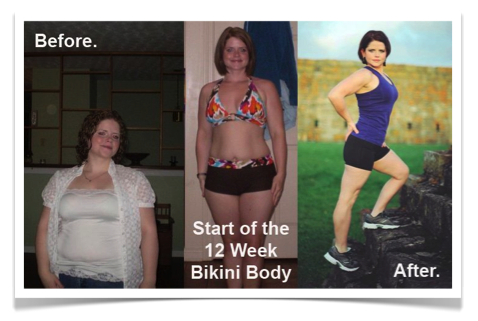 Angela Blue Natural Weight Loss Success Story - Bikini Body Program