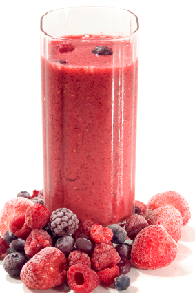 healthy fruit smoothies with almond milk fruit leather