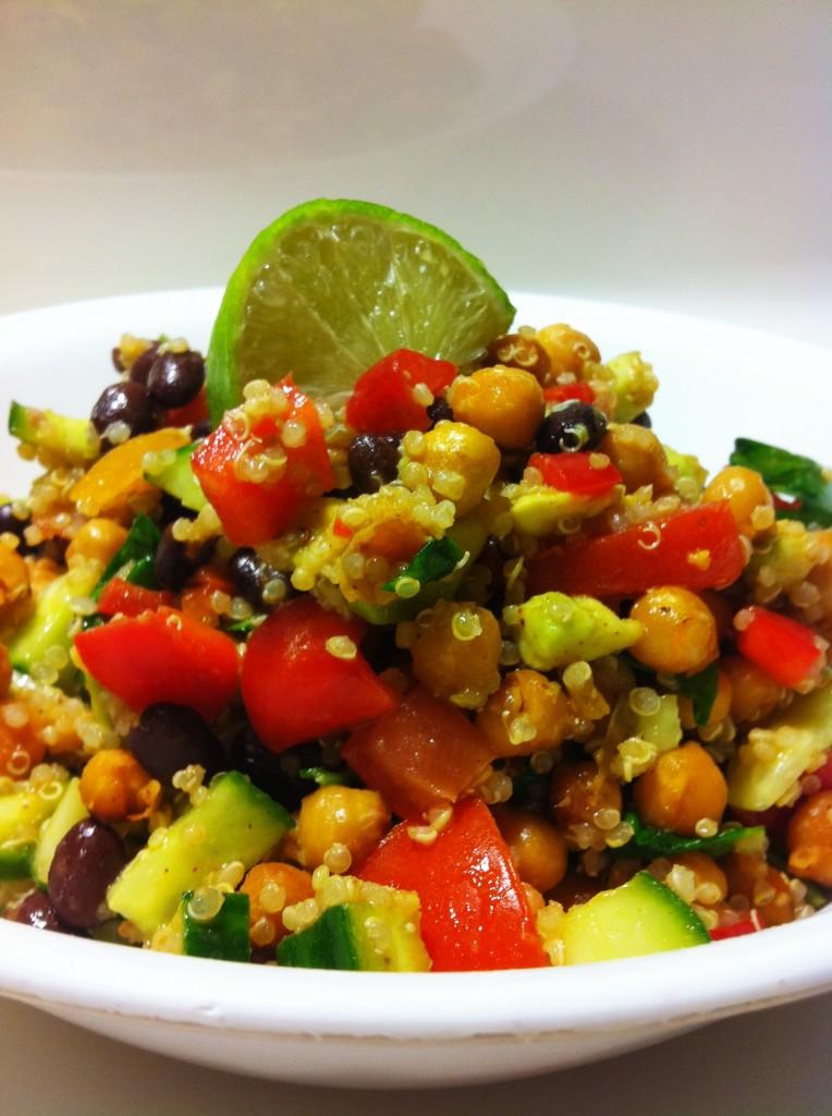 Amy Laynes Vegan Mexi Salad