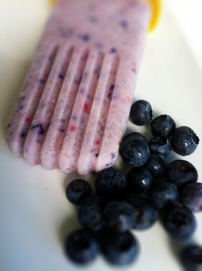 Tropical Fruit Smoothie Popsicles