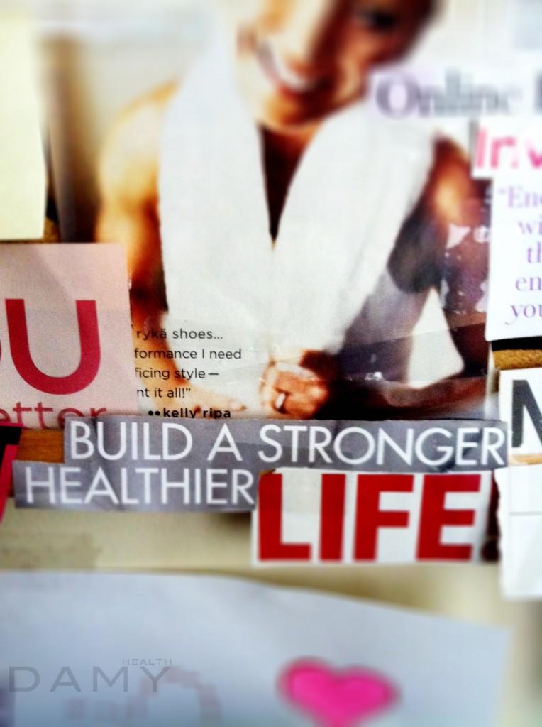 build a stronger healthier life