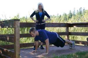 Amy Layne training David Duizer