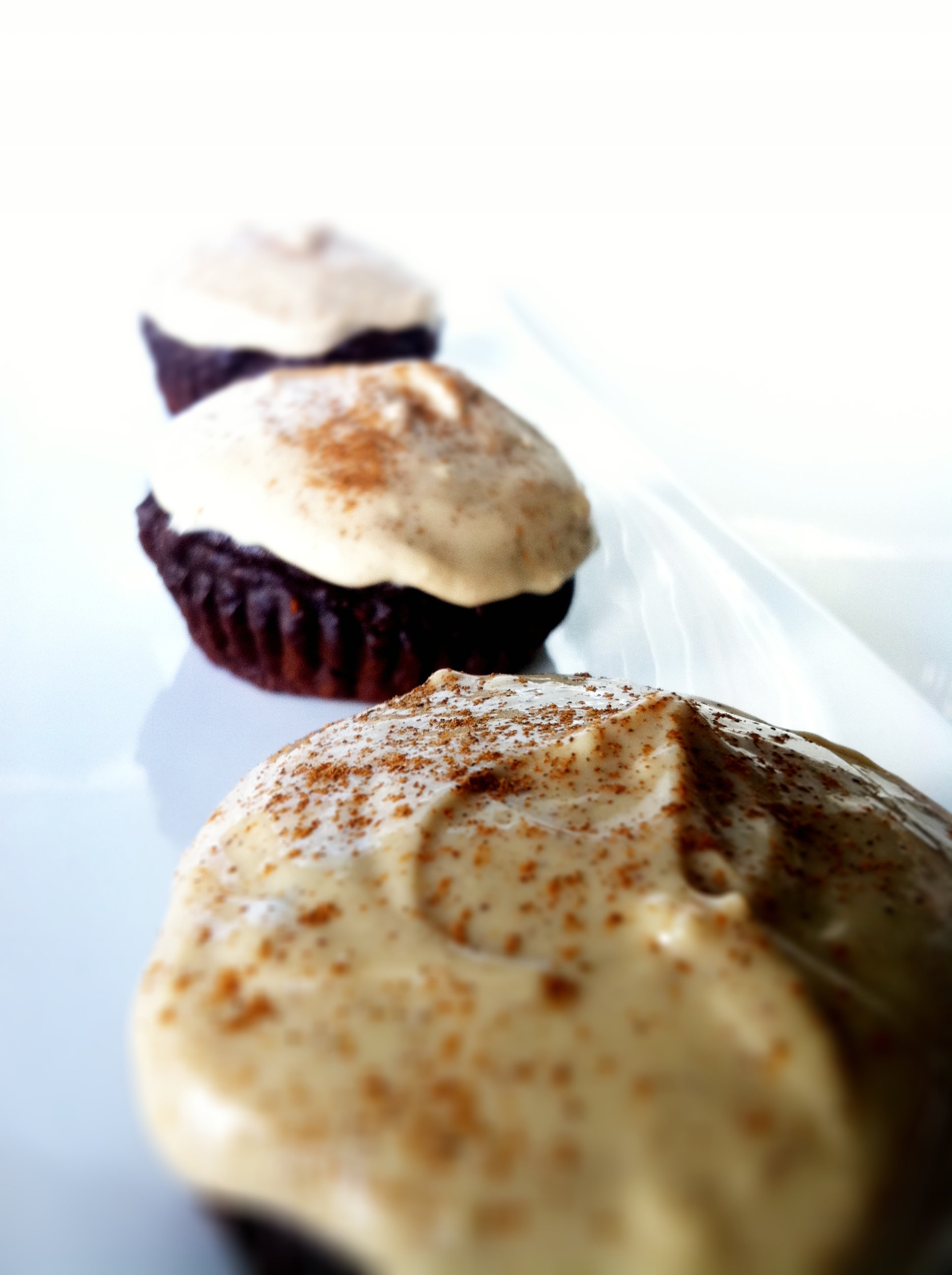 ... Cupcakes with Mint Fudge Icing Skinny Chocolate Protein Cake Skinny