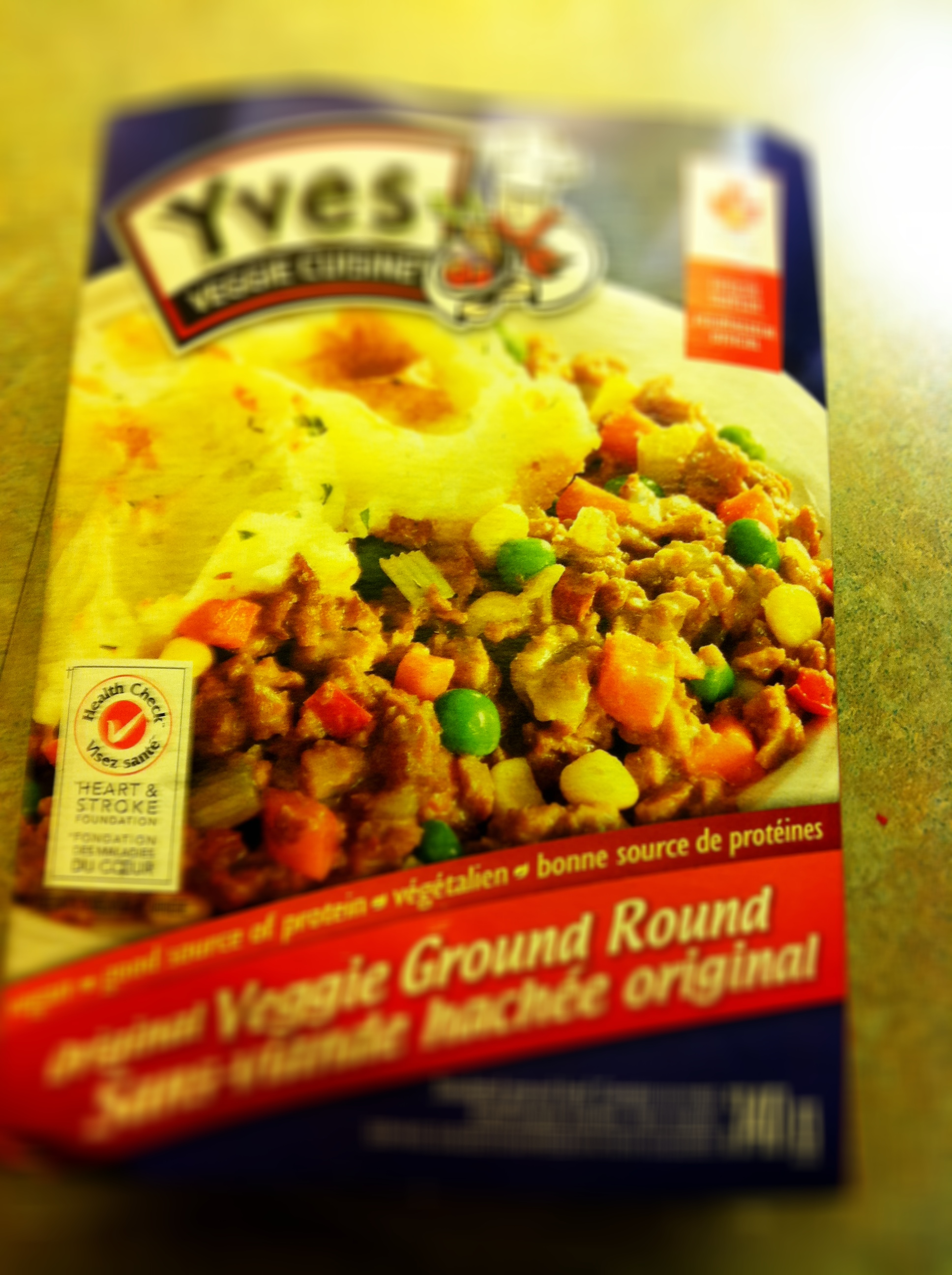 Yves Ground Beef Veggie