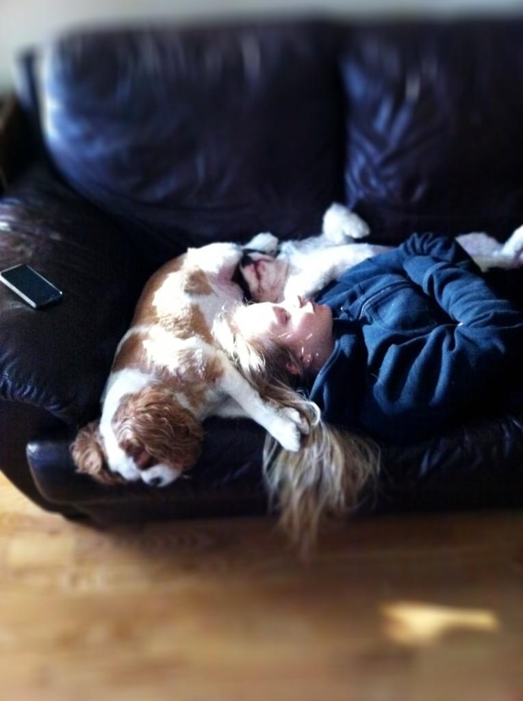 Cute nap at DAMY