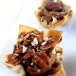 Skinny Pecan Pie Phyllo Tarts