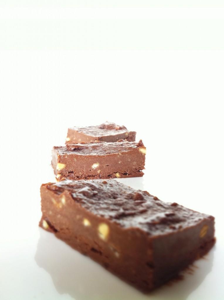 chocolate Peanut Butter Protein Fudge