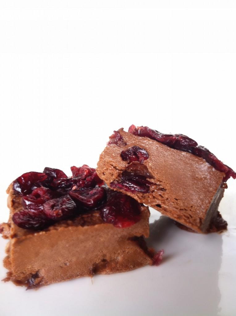 chocolate cranberry fudge