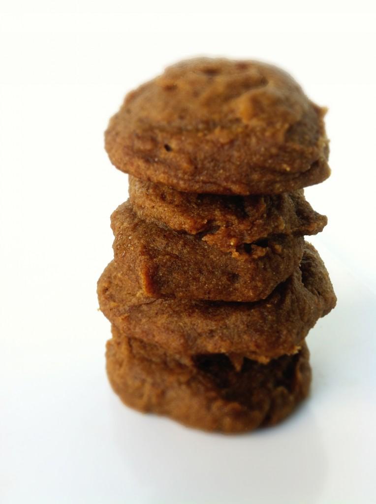 Clean Eating Ginger Snap Cookies