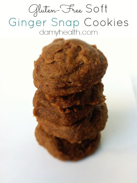 Gluten-Free Soft Ginger Snap Recipe