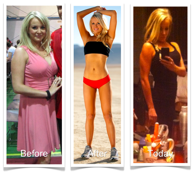 Amy Layne Weight Loss Before and After Jan 15 2012