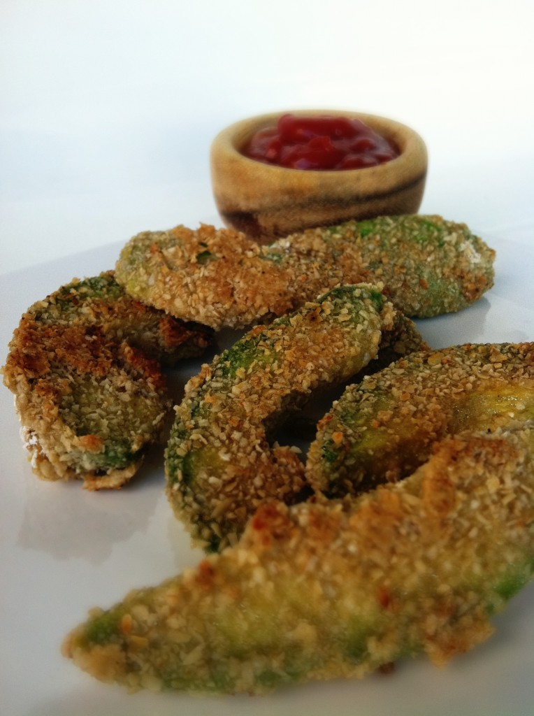 Clean Avocado fries