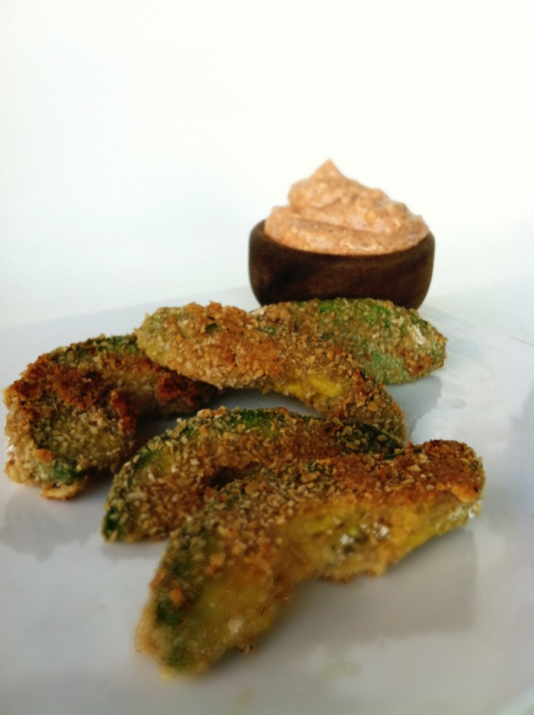 Healthy Avocado fries