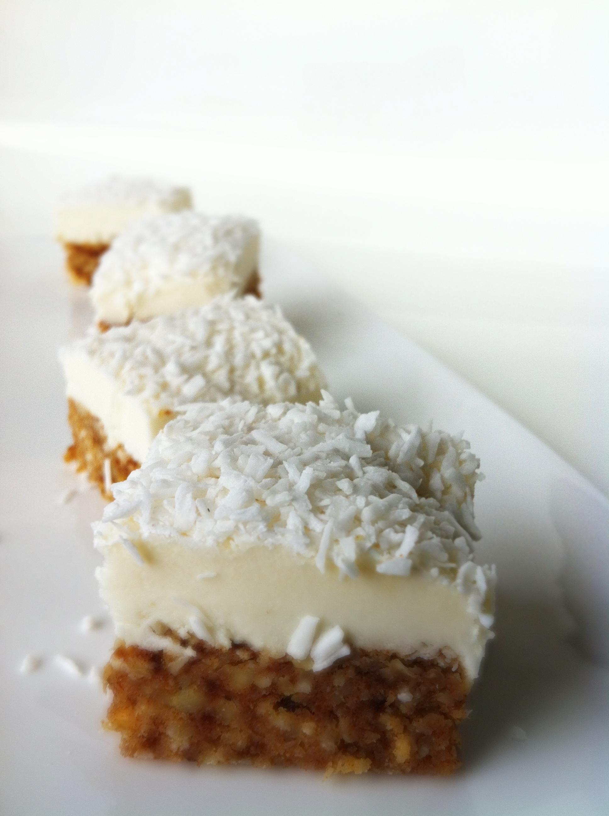 Recipe for coconut cream cheese cake