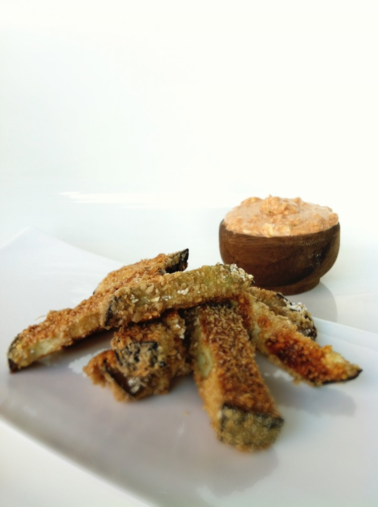 Eggplant Fries Recipe — Dishmaps
