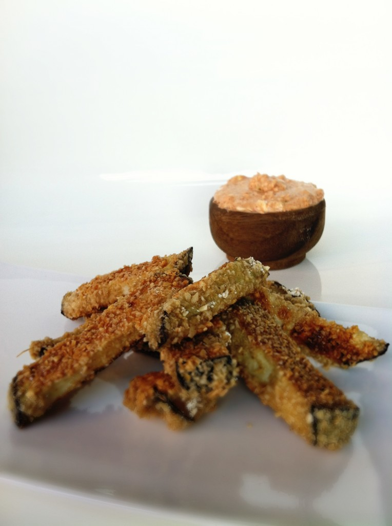 Healthy Eggplant Fries Amy Layne