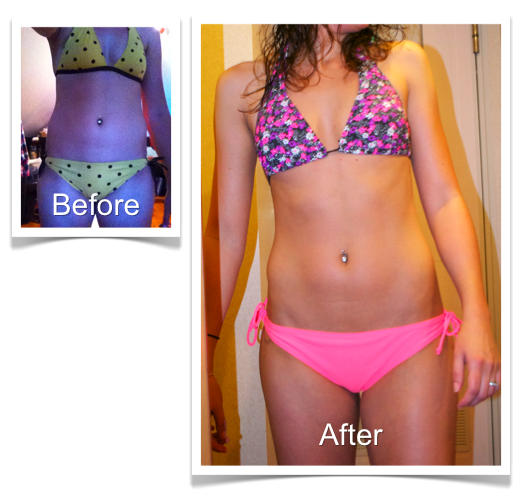 Kristen Before and After Bikini Body Program 2