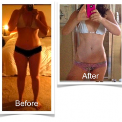 Steph Before and After Bikini Body Program 2