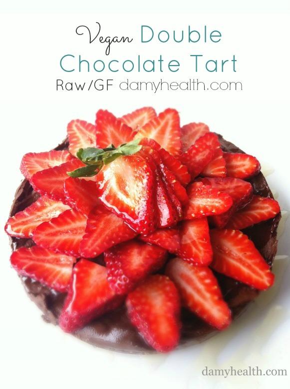 Avocado Chocolate Tart