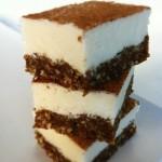 Skinny Cinnamon Bun Cheesecake Squares