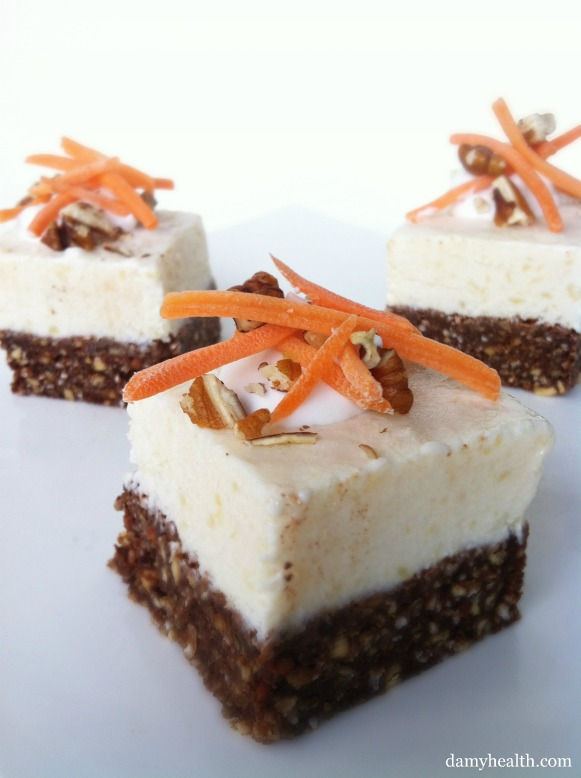 Healthy Carrot cake cheese cake