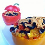 Loaded Veggie Santa Fe Stuffed Peppers