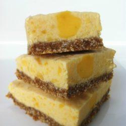Skinny Mango Cheesecake