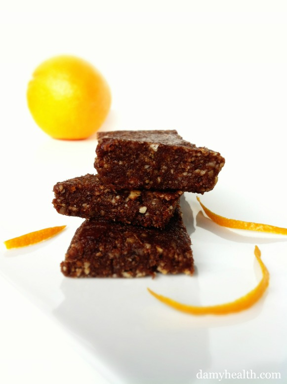 Terry's Chocolate Orange Larabars