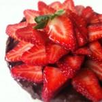 Healthy Double Chocolate Pudding Tart (Avocado Chocolate Pudding)
