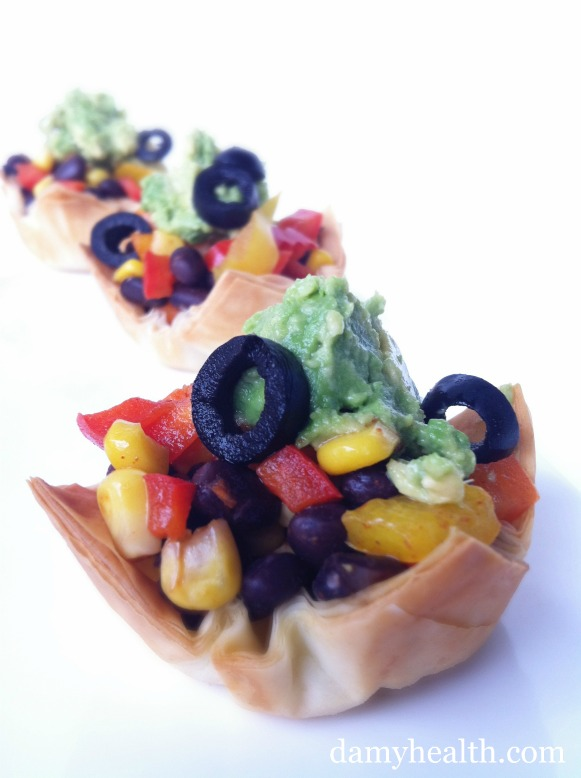 easy over taco cups
