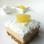 Pina Colada Vegan Cheesecake