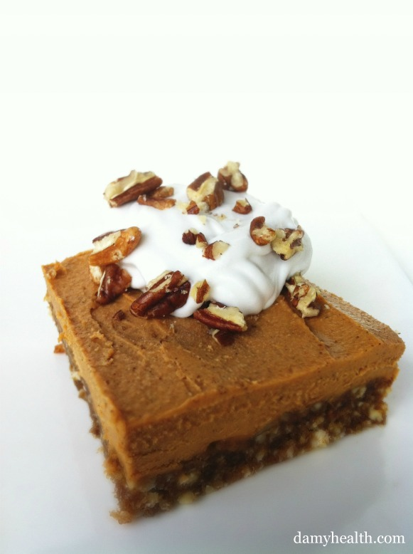 vegan pumpkin pie cheesecake