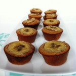 Two Bite Chocolate Chip Banana Protein Muffins