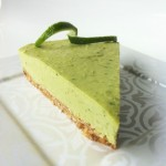 Raw Lime Mousse Pie