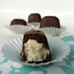 Ice Cube Tray Chocolate Covered Cheesecakes (Vegan Option)