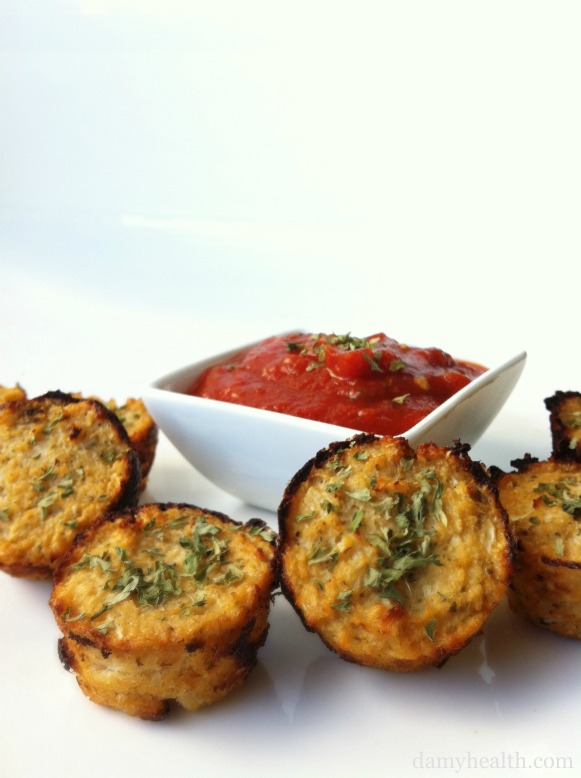 Pizza Cauliflower Bites