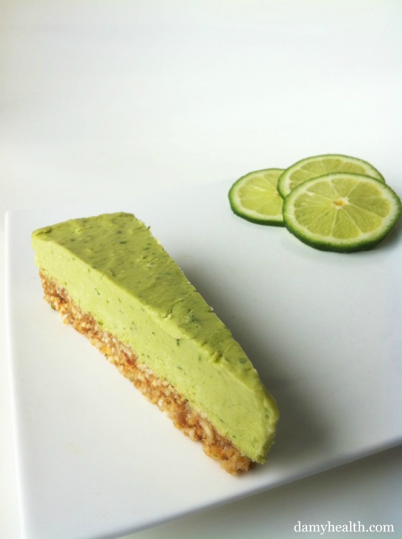 Raw Lime Mousse Tart