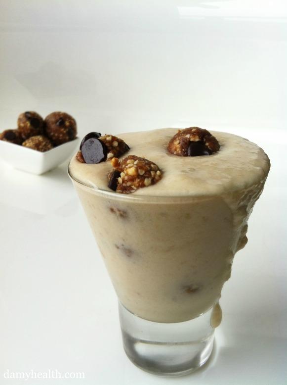 Vegan Cookie Dough Blizzard