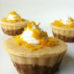 Orange Creamsicle Tarts (No Bake)