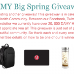 How to Enter the DAMY Big Spring Giveaway