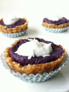 Raw Blueberry Pie