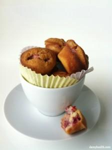 Strawberry Lemonade Gluten-free Muffins