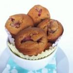 Strawberry Lemonade Two Bite Muffins (GF)