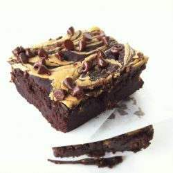 blackbean Peanut Butter Brownies