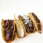 Healthy Chocolate Tacos (Dessert Tacos)