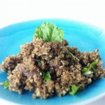 "Raw Veggie Ground Beef (Ground Walnut ""Meat"")"