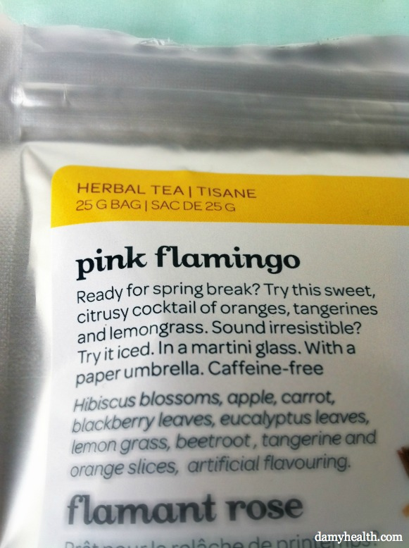 Davids Tea Pink Flamingo