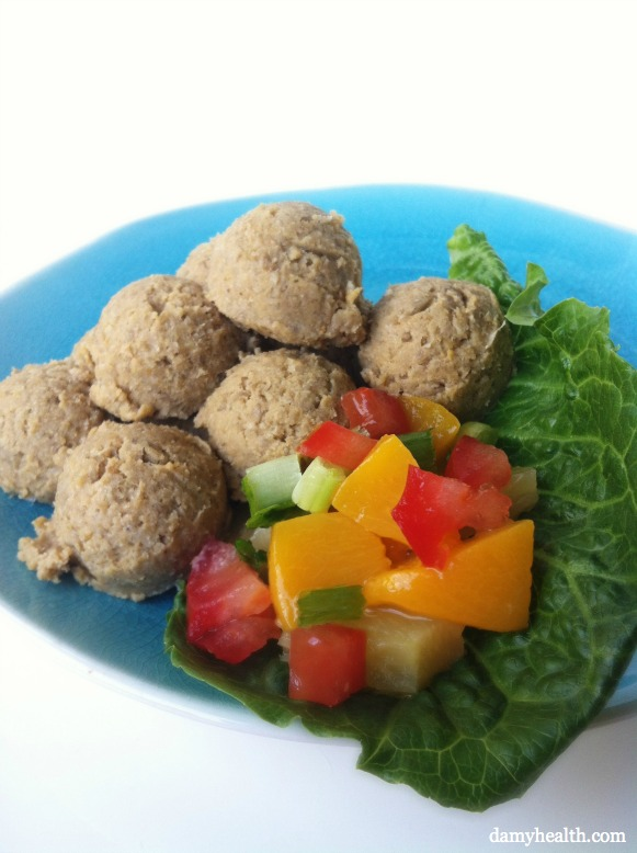 Healthy Raw Falafel