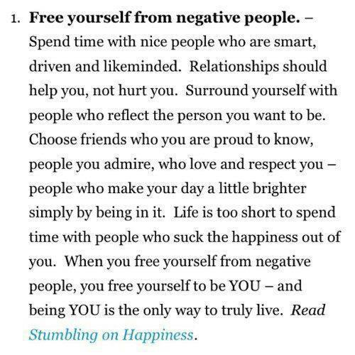 Heart Candy - Free yourself from negative people