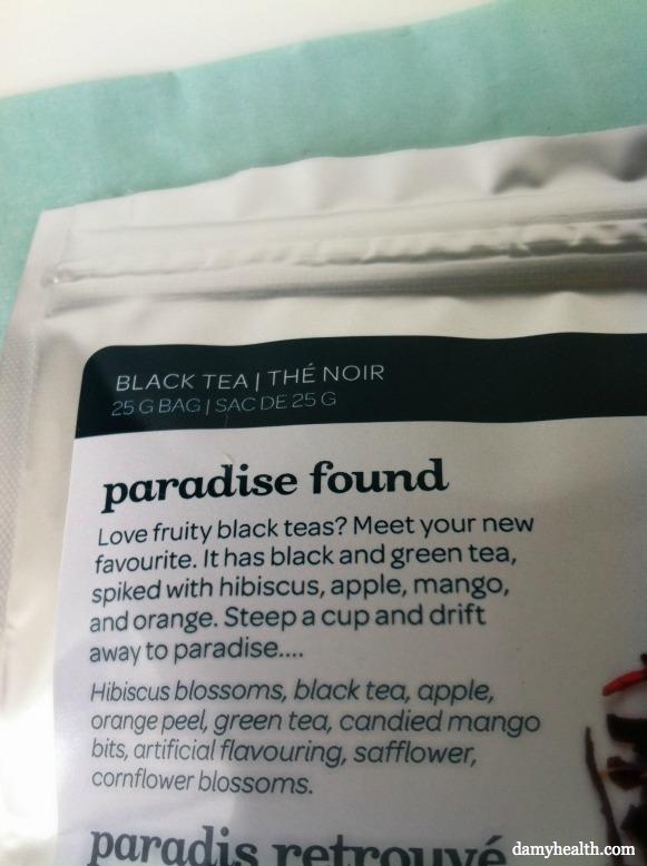 Paradise Found Davids Tea